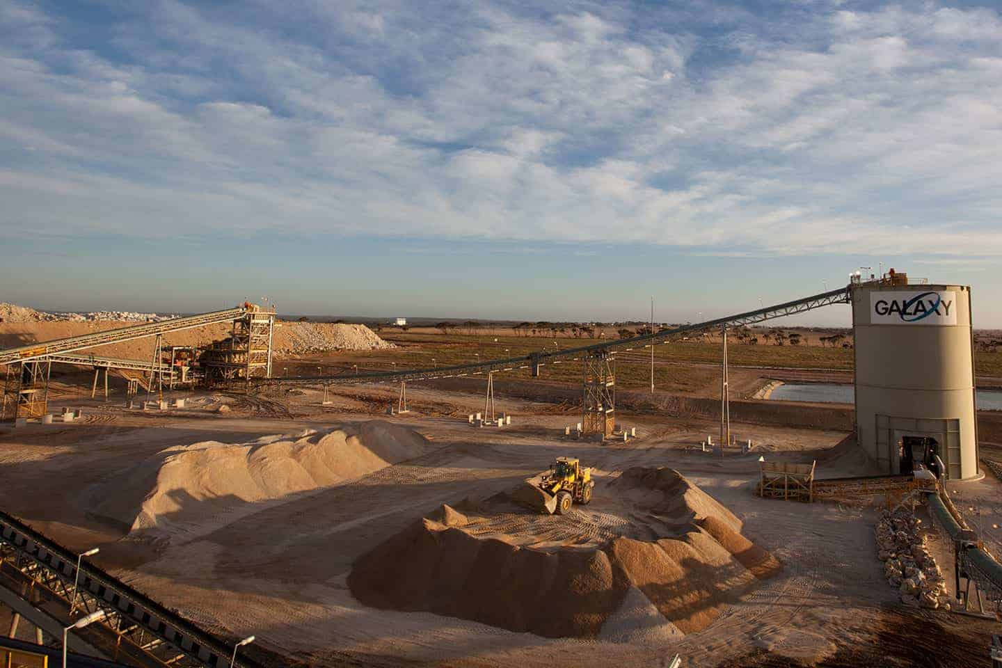 Galaxy Resources Shares (ASX GXY)