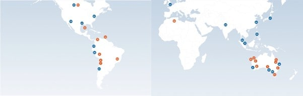 BHP (ASX:BHP) - BHP locations