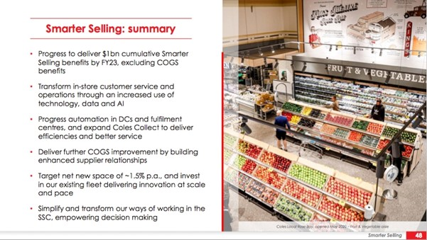 Coles Group (ASX:COL) - Smarter Selling
